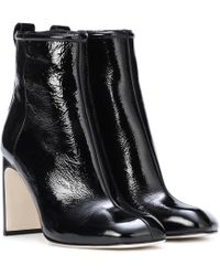 Rag & Bone - Ellis Patent Leather Ankle Boots - Lyst