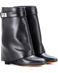 Givenchy - Tria Leather Boots - Lyst e68d57d65