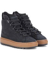 PUMA - The Ren Leather Ankle Boots - Lyst