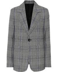 JOSEPH - Annab Checked Wool Blazer - Lyst