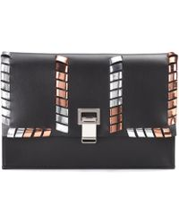 Proenza Schouler - Small Lunch Leather Clutch - Lyst