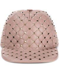 Valentino | Garavani Rockstud Spike Hat | Lyst