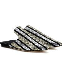 Sanayi 313 - Striped Slippers - Lyst