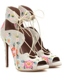 Tabitha Simmons - Reed Festival Embellished Sandals - Lyst