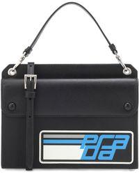 Prada - Racing Mini Leather Crossbody - Lyst