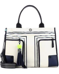 Tory Sport - Printed Canvas Tote - Lyst