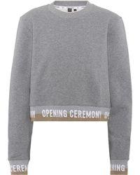 Opening Ceremony - Sweatshirt mit Baumwollanteil - Lyst