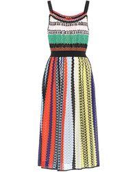 Missoni - Sleeveless Striped Dress - Lyst