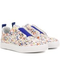 Pierre Hardy - Slider Leather Trainers - Lyst