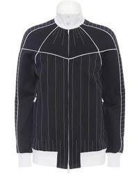 Valentino - Techno Jersey Jacket - Lyst