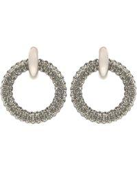 Balenciaga - Hoop Giant Earrings - Lyst