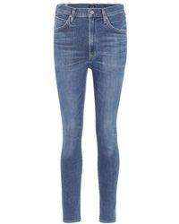 Citizens of Humanity - Jeans skinny Chrissy a vita alta - Lyst