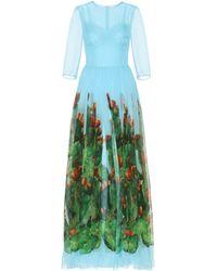 Dolce & Gabbana - Exclusive To Mytheresa.com – Printed Silk Dress - Lyst