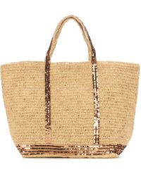 Vanessa Bruno - Cabas Grand Raffia Shopper - Lyst