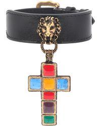 Gucci - Leather Bracelet - Lyst