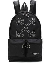 Off-White c/o Virgil Abloh - Printed Nylon Backpack - Lyst