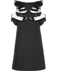 Victoria, Victoria Beckham - Ruffled Dress - Lyst