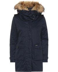Woolrich - Scarlett Fur-trimmed Parka - Lyst