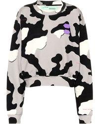 6cf75951b9fe Off-White c o Virgil Abloh - Exclusivité Mytheresa – Sweat-shirt imprimé