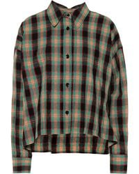 Isabel Marant - Macao Plaid Cotton And Linen Shirt - Lyst