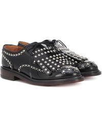 Clergerie - Studded Lace-up Shoes - Lyst