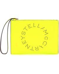 Stella McCartney - Stella Logo Clutch - Lyst