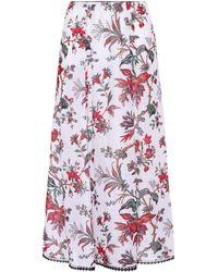 McQ - Printed Skirt - Lyst