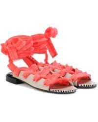 52770731042b Lyst - Women s Altuzarra Flat sandals Online Sale