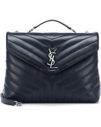 bc301a98eab Saint Laurent Medium Loulou Monogram Shoulder Bag