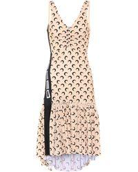Marine Serre - Printed Asymmetric Dress - Lyst