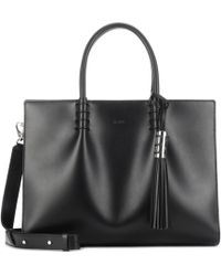 Tod's - Lady Moc Large Leather Tote - Lyst