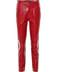 J Brand - Pantalones Ruby de charol - Lyst
