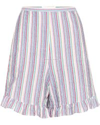 See By Chloé - Shorts aus Stretch-Baumwolle - Lyst