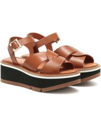 Clergerie - Plateausandalen Adelaide - Lyst