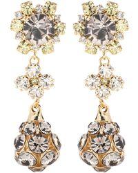 Erdem - Crystal-embellished Earrings - Lyst