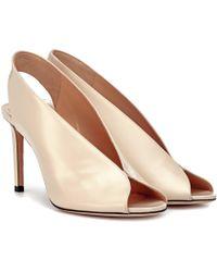 Jimmy Choo - Shar 85 Leather Sandals - Lyst