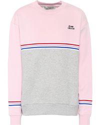 Être Cécile - Cotton Jersey Sweatshirt - Lyst
