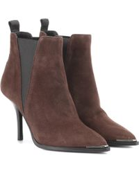 Acne Studios - Jemma Suede Ankle Boots - Lyst