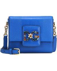 f879beb607f4 Dolce   Gabbana - Dg Millennials Mini Leather Shoulder Bag - Lyst