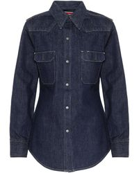 CALVIN KLEIN 205W39NYC - Denim Shirt - Lyst