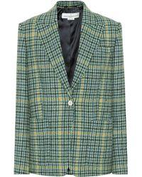 Golden Goose Deluxe Brand - Blazer en laine à carreaux - Lyst