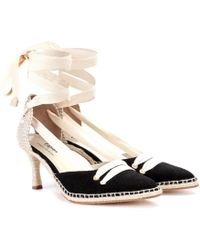 Manolo Blahnik - Manolo Medium Espadrille Court Shoes - Lyst