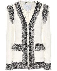 Giambattista Valli - Tweed Jacket - Lyst