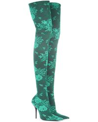Balenciaga - Knife Over-the-knee Boots - Lyst