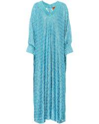 Missoni - Lamé Maxi Dress - Lyst