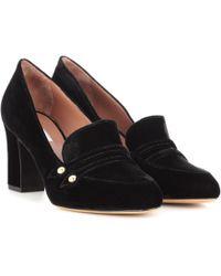 Tabitha Simmons - Maxwell Velvet Court Shoes - Lyst
