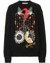 Givenchy - Printed Cotton Sweatshirt - Lyst