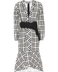Johanna Ortiz - Jalisco Check Linen Dress - Lyst