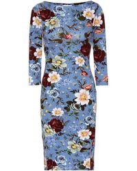 Erdem - Reese Printed Jersey Dress - Lyst