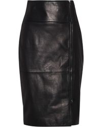 Tom Ford - Leather Skirt - Lyst